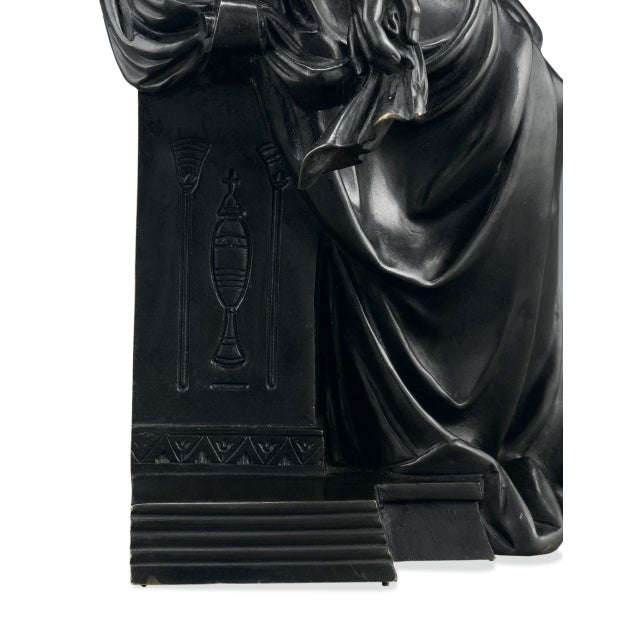 Early 19th Century Bronze Isis by Emile-louis Picault For Sale - Image 5 of 7