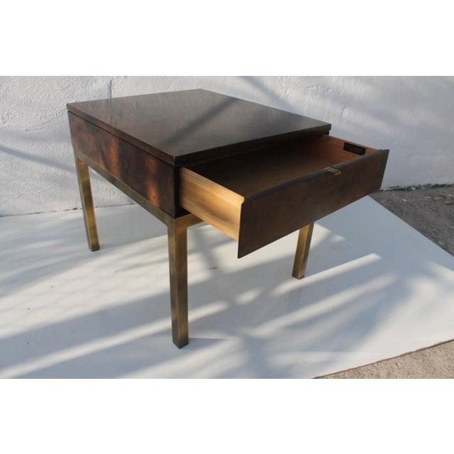 Tomlinson Burlwood End Table - Image 4 of 11