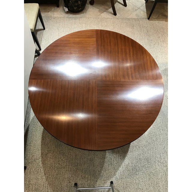 Barbara Barry for Henredon Arts and Crafts Ascot Mahogany Dining Table For Sale - Image 12 of 12
