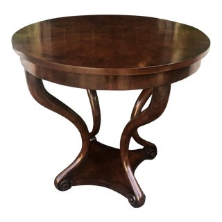 Panache Designs for Michael Taylor Geneva Center or Side Table For Sale