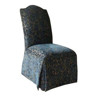 1990s Ethan Allen Slipper Chair For Sale