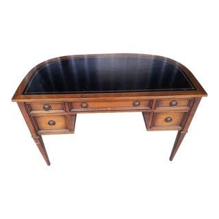Neoclassical Demi-Lune Writing Desk For Sale