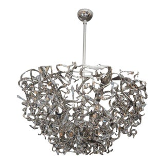 Brand van Egmond Upside Down Icy Lady Sculptural Chandelier