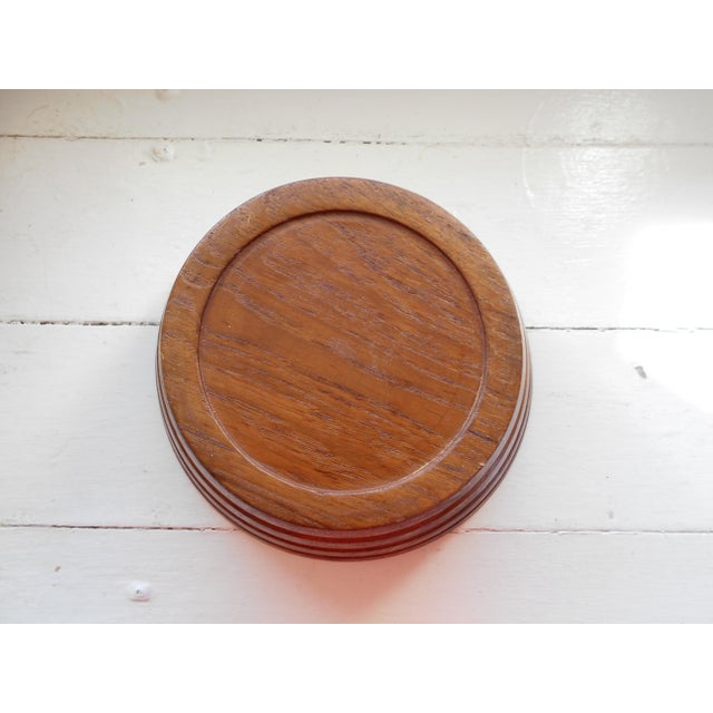 Vintage Teak Bowl - Image 5 of 7