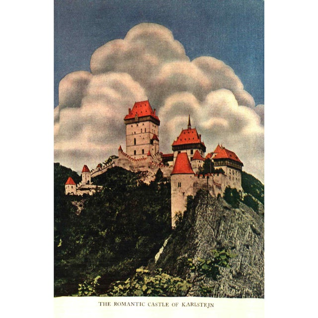 """Traditional 1930 """"The Road Through Czechoslovakia"""" Collectible Book For Sale - Image 3 of 6"""