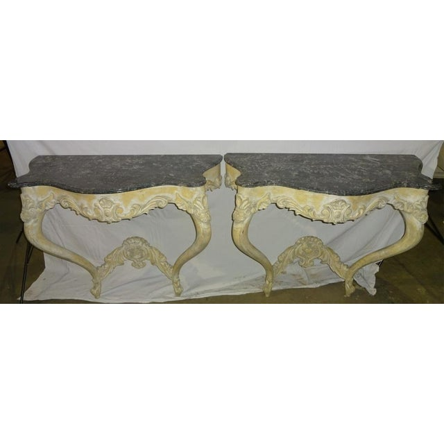 Italian Console Tables - A Pair - Image 2 of 10