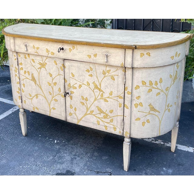 Equator Furniture Company Rustic Painted Sideboard Buffet Credenza Cabinet