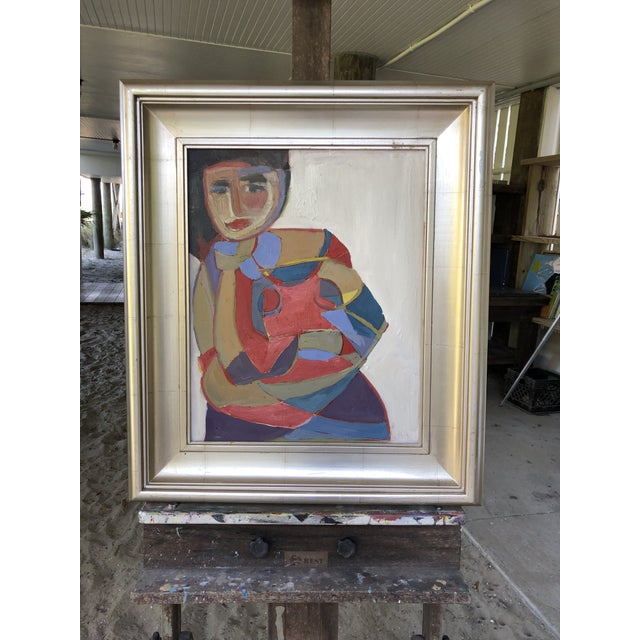 """""""Many Layers of a Woman"""" Abstract Portrait by Anne Darby Parker Oil on canvas, 16x20 frame not included unless you contact..."""