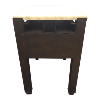 Marble Top Side Table For Sale