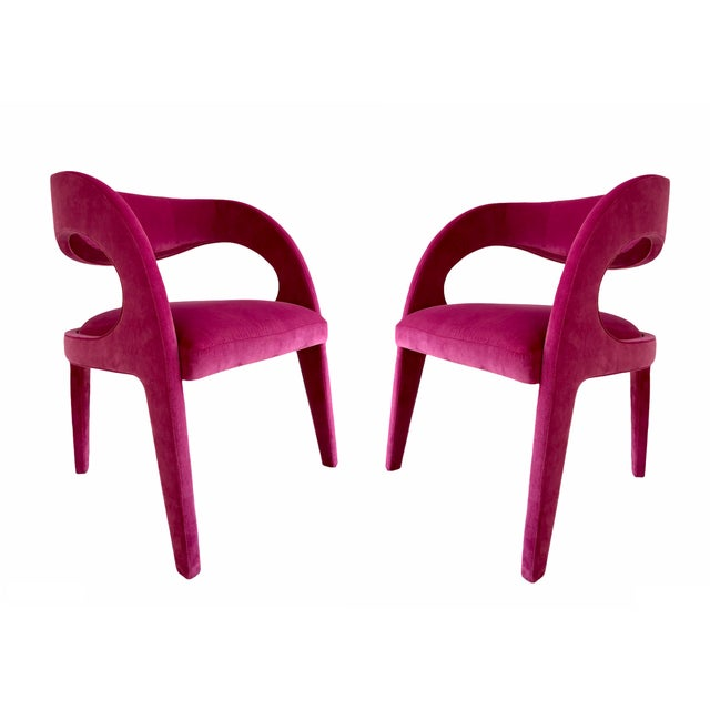 Avant-Garde Berenice Fendi Chairs - a Pair For Sale - Image 9 of 9