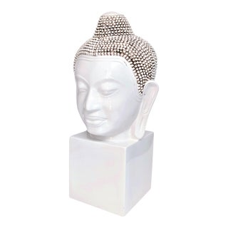 Buddha Head Sculpture by Chapman