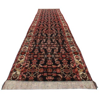 """Antique Persian Malayer Runner - 3'1"""" x 13'8"""" For Sale"""
