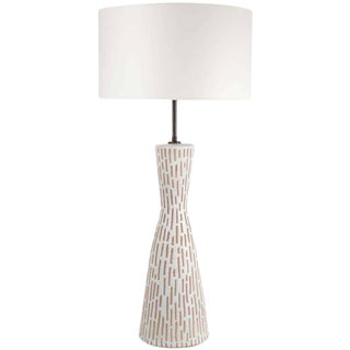 Italian Ceramic Table Lamp by Raymor For Sale
