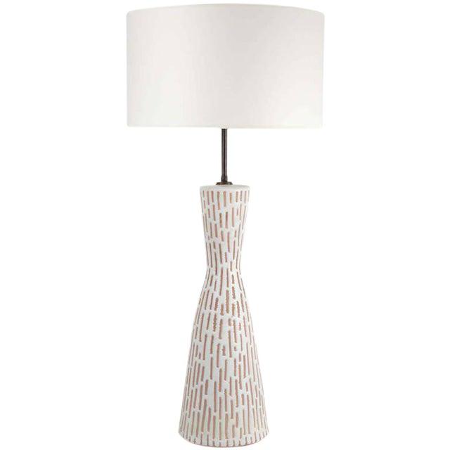 Raymor Italian Ceramic Table Lamp For Sale
