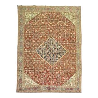 Antique Persian Mahal Rug, 8'9'' x 12'