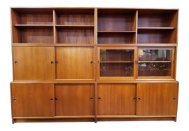 Image of Teak Wall Cabinets
