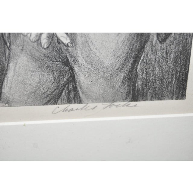 Charles Locke Pencil Signed Lithograph For Sale - Image 5 of 9