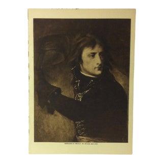 "Circa 1915 ""Napoleon at Arcole"" the Mentor Association Print For Sale"