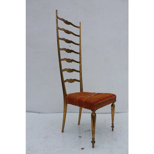 This is an example of one of the variations of Chiavari chair produced by Fratelli Levaggi. It's sleek and delicate...