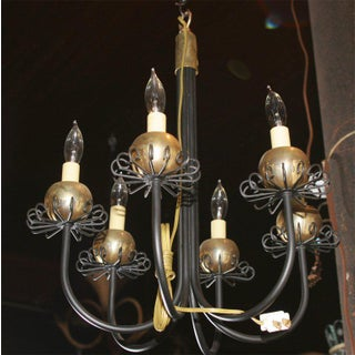 Small Midcentury Fanciful Chandelier Preview