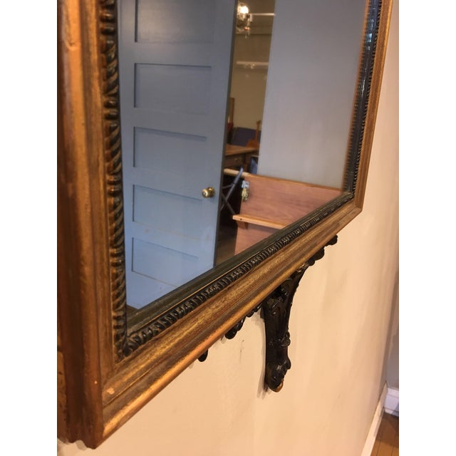 Chippendale Vintage Chippendale Style Wall Mirror For Sale - Image 3 of 8