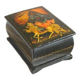"Image of ""Russlan and Ludmilla"" Russian Lacquer Box For Sale"