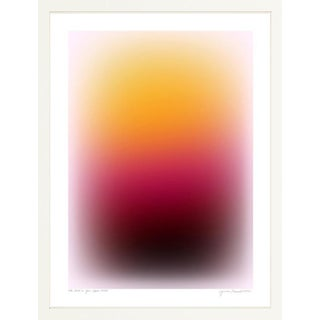 Color Cloud 16 Contemporary Abstract Print by Jessica Poundstone, Framed For Sale