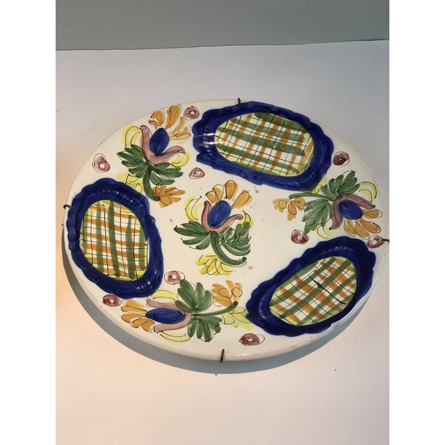 Folk Art 19th Century Country Dutch Gaudy Faience Plates - a Pair For Sale - Image 3 of 13