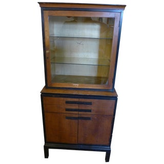 1940's Medical Cabinet Apothecary For Sale