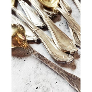 1910s Antique Tiffany & Co Silver and Gilt Ice Cream Forks - Set of 12 Preview