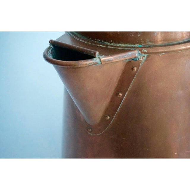 Antique Copper & Brass Kettle - Image 8 of 11