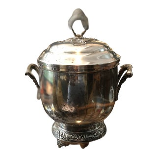Antique English Style Ice Bucket For Sale