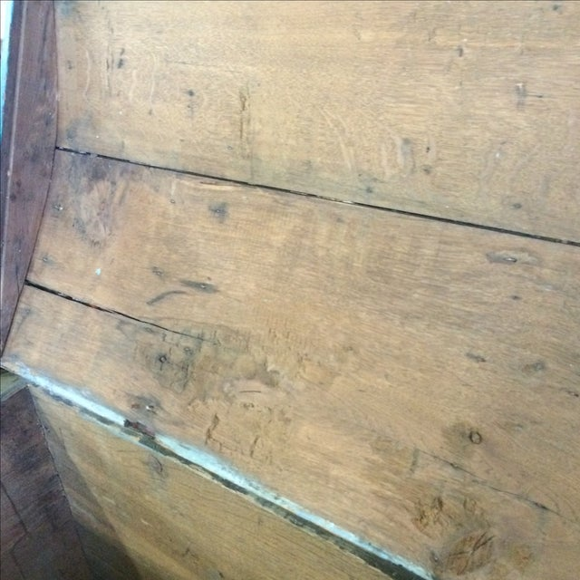 Antique Painted Chest 1822 For Sale - Image 11 of 11