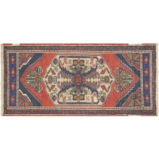 "1960s Turkish Oushak Yastik - 1'9"" X 3'7"" For Sale"