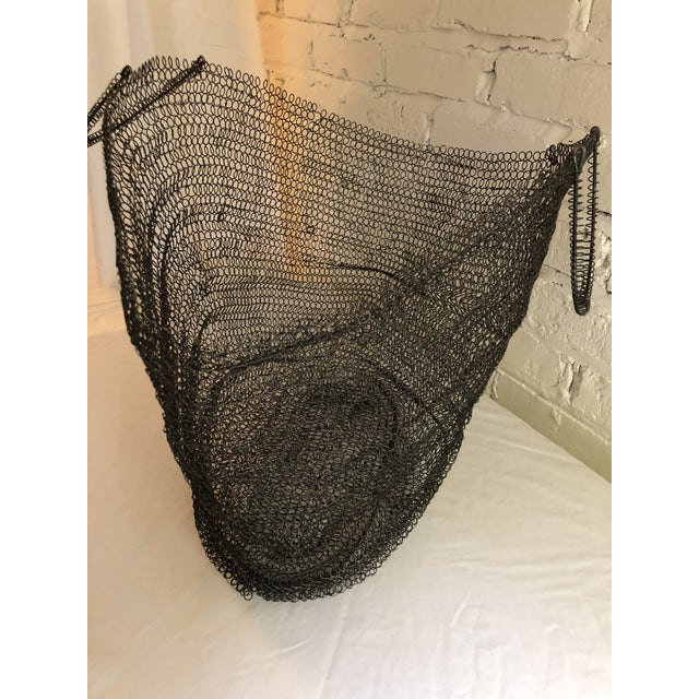 Black Wire Art Bag For Sale - Image 8 of 10