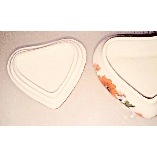 Limoges, France Limoges Rochard France Trinket Jewelry Heart Box For Sale - Image 4 of 7