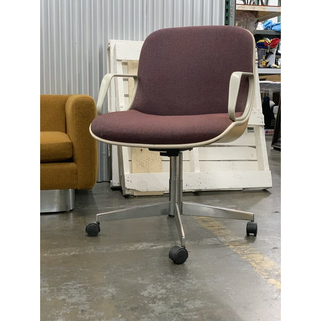Metal 1970s Vintage Steelcase Office Chair For Sale - Image 7 of 7