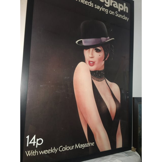 1972 London Telegraph Lisa Minnelli Cabaret Poster - Image 5 of 11