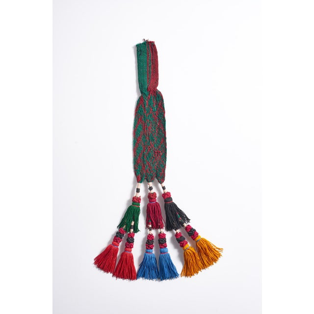 Handmade tassel made in Turkey. Unique and colorful. I use them to hang from head boards, ties backs, hanging on lamps....