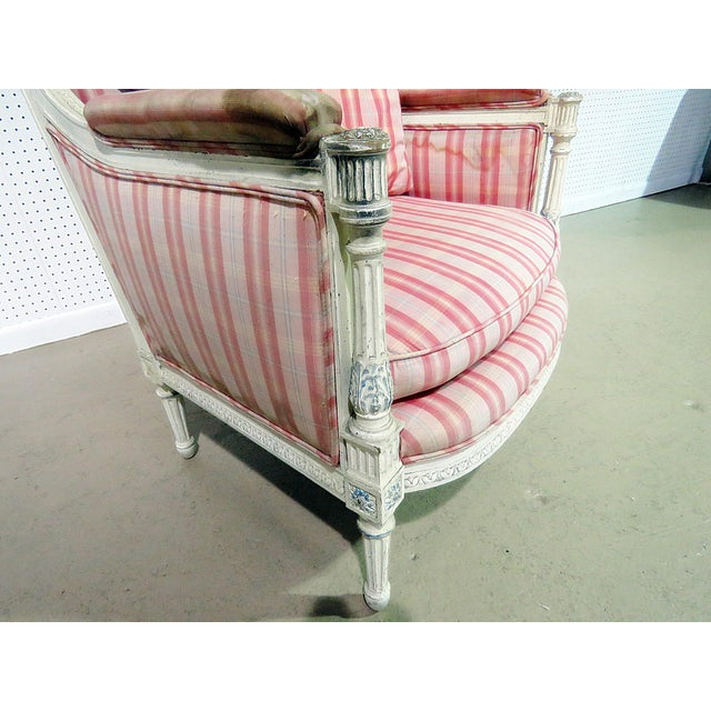 Swedish Style Bergere For Sale - Image 11 of 13
