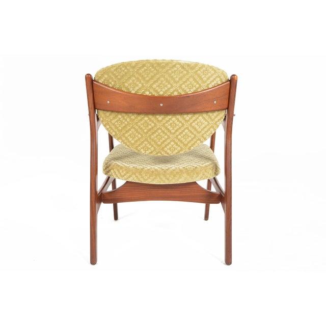 Danish Modern Rosewood & Mohair Armchair - Image 7 of 10