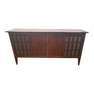 1950s Danish Modern Record Player Stereo Console For Sale
