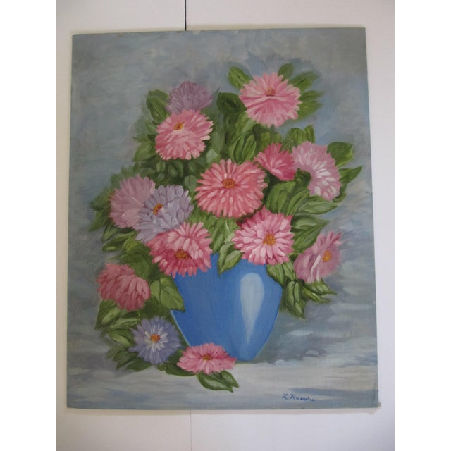 Vintage Flower Still Life - Image 7 of 7