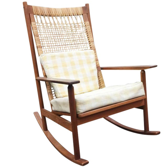 Danish Modern Rocking Chairs by Hans Olsen for Juul Kristiansen - Image 1 of 6