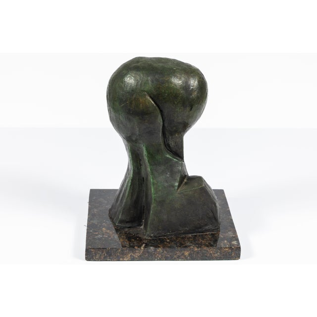 MId-Century Modern Bronze Abstract Sculpture For Sale - Image 4 of 9
