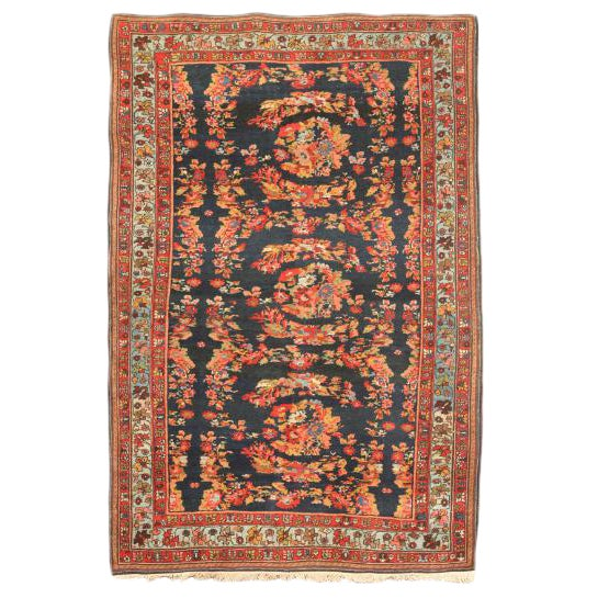 Antique 19th Century Persian Bidjar Rug For Sale