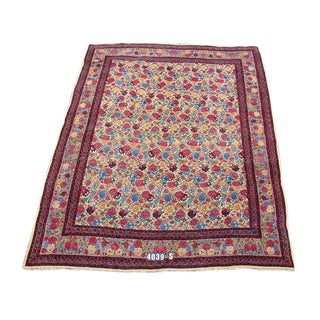 Mashad Persian Floral Carpet - 10′ × 13′ For Sale