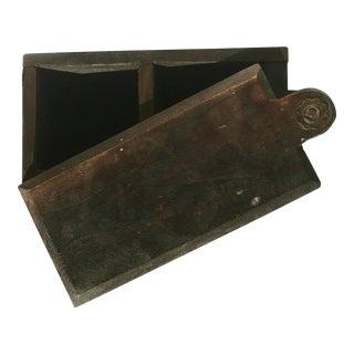 Vintage Style Sliding Box For Sale