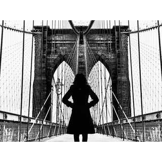 """Woman on Brooklyn Bridge"" Photograph Print by Shane LaVancher For Sale"