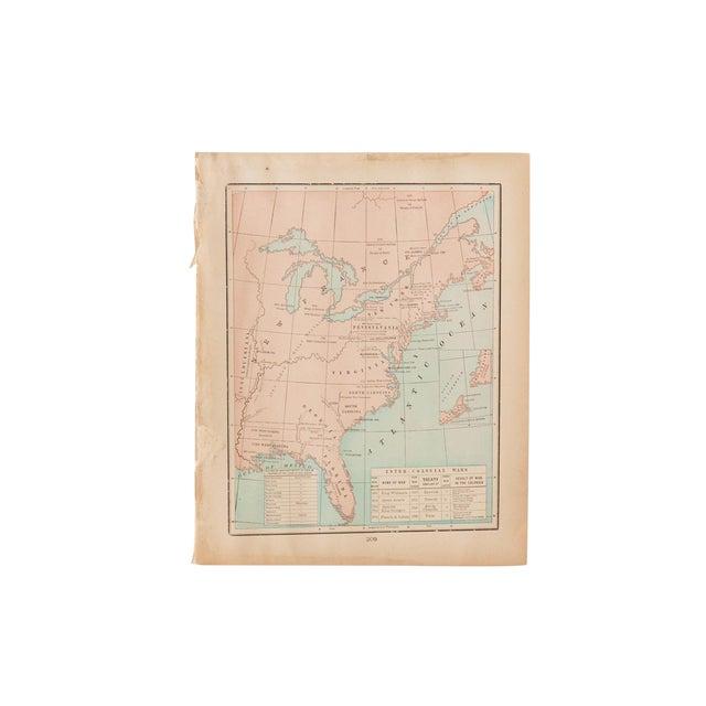 Cram's 1907 Map of Original Territories For Sale